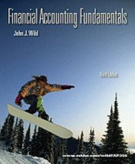 Financial Accounting Fundamentals 3rd edition 9780073527048 0073527041