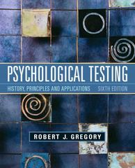 Psychological Testing 6th edition 9780205782147 0205782140