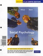Social Psychology, Books a la Carte Plus MyPsychLab 7th edition 9780205791712 0205791719