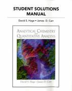 Student Solutions Manual For Analytical Chemistry and Quantitative Analysis 1st edition 9780321705518 0321705513