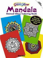 Mandalas GemGlow Stained Glass Coloring Book 0 9780486474786 048647478X