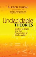 Undecidable Theories 0 9780486477039 0486477037