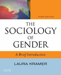The Sociology of Gender 3rd edition 9780195389289 019538928X