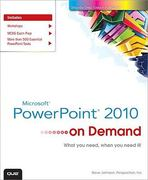 Microsoft PowerPoint 2010 On Demand 1st Edition 9780789742803 0789742802