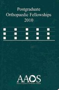 Postgraduate Orthopaedic Fellowship 2010 25th edition 9780892036455 0892036451