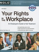 Your Rights in the Workplace 9th Edition 9781413312102 1413312101