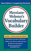 Merriam-Webster's Vocabulary Builder 2nd Edition 9780877798552 0877798559