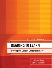 Reading to Learn 1st Edition 9780757565960 0757565964