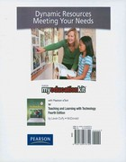 MyEducationKit with Pearson eText -- Standalone Access Card -- for Teaching and Learning with Technology 4th edition 9780132476720 013247672X