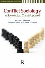 Conflict Sociology 0 9781594516016 1594516014