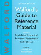 Walford's Guide to Reference Material 7th edition 9781856042239 1856042235