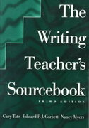 The Writing Teacher's Sourcebook 3rd edition 9780195083064 0195083067