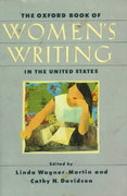 The Oxford Book of Women's Writing in the United States 0 9780195087062 0195087062