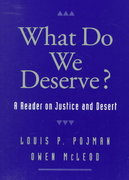 What Do We Deserve 1st Edition 9780195122183 0195122186