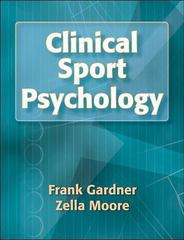 Clinical Sport Psychology 1st Edition 9780736053051 0736053050