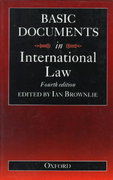 Basic Documents in International Law 4th edition 9780198763819 0198763816