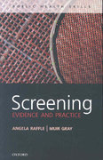 Screening 1st edition 9780199214495 0199214492