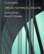 Applied Numerical Analysis 4th edition 9780201115833 0201115832