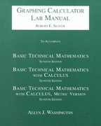 Basic Technical Mathematics/Basic Technical Mathematics with Calculus/Basic Technical Mathematics with Calculus, Metric Version 7th edition 9780201658576 0201658577
