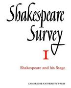 Shakespeare and His Stage 0 9780521523455 0521523451