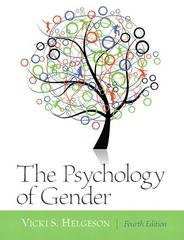 Psychology of Gender 4th edition 9780205050185 0205050182