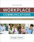 Workplace Communications 5th edition 9780205072415 0205072410