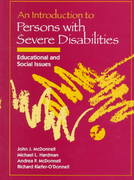 An Introduction to Persons With Severe Disabilities 1st edition 9780205150908 020515090X