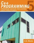 C plus plus Programming Program Design Including Data Structures