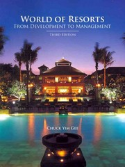 World Of Resorts 3rd Edition 9780866123464 0866123466