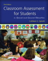Classroom Assessment for Students in Special and General Education 3rd edition 9780137050130 0137050135