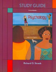 Study Guide for Exploring Psychology 8th edition 9781429231992 1429231998