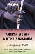 African Women Writing Resistance 1st Edition 9780299236649 0299236641
