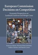 European Commission Decisions on Competition 1st edition 9780521117197 0521117194