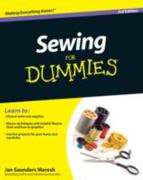Sewing For Dummies 3rd edition 9780470623206 0470623209