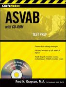CliffsNotes ASVAB, with CD-ROM 2nd edition 9780470566831 0470566833