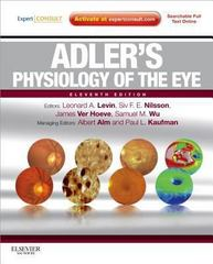 Adler's Physiology of the Eye 11th edition 9780323057141 0323057144