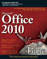 Office 2010 Bible 3rd edition 9780470591857 0470591854