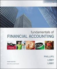 Fundamentals of Financial Accounting 3rd edition 9780073527109 0073527106