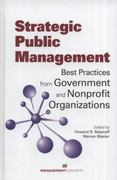 Strategic Public Management 1st Edition 9781567262766 1567262767
