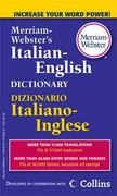 Merriam-Webster's Italian-English Dictionary 1st Edition 9780877798583 0877798583