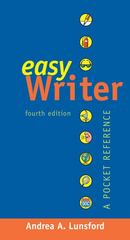 EasyWriter with 2009 MLA and 2010 APA Updates 4th edition 9780312650315 0312650310