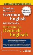 Merriam-Webster's German-English Dictionary 1st Edition 9780877798576 0877798575