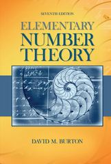 Elementary Number Theory 7th edition 9780073383149 0073383147