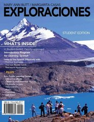 Exploraciones (with iLrn Heinle Learning Center Printed Access Card) 1st edition 9781413000689 1413000681