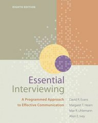 Essential Interviewing 8th edition 9780840034717 0840034717