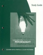 Study Guide for Pastorino/Doyle-Portillo's What is Psychology? Essentials 1st edition 9780495603153 0495603155