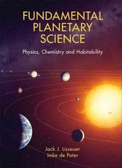 Fundamental Planetary Science 1st Edition 9780521618557 052161855X