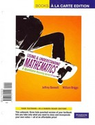Using and Understanding Mathematics: A Quantitative Reasoning Approach, A, Books a la Carte Edition plus MyMathLab with Pearson eText -- Access Card Package 5th edition 9780321706065 0321706064