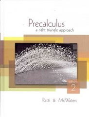 Precalculus: A Right Triangle Approach plus MyMathLab/MyStatLab Student Access Code Card 2nd edition 9780321624369 032162436X