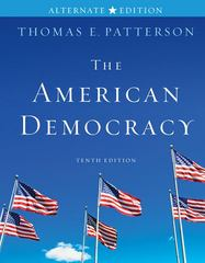 The American Democracy Alternate Edition 10th edition 9780077339050 0077339053